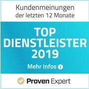 Kundenbewertungen auf Provenexpert